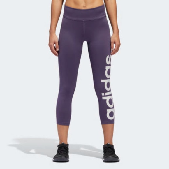 ADIDAS Women's Climalite Mix Fab 34 Tights Size M NWT